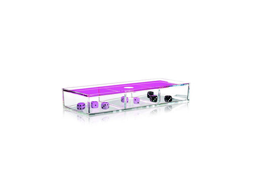 Nomess Clear 3-room box - Neon rosa-Designfund.no