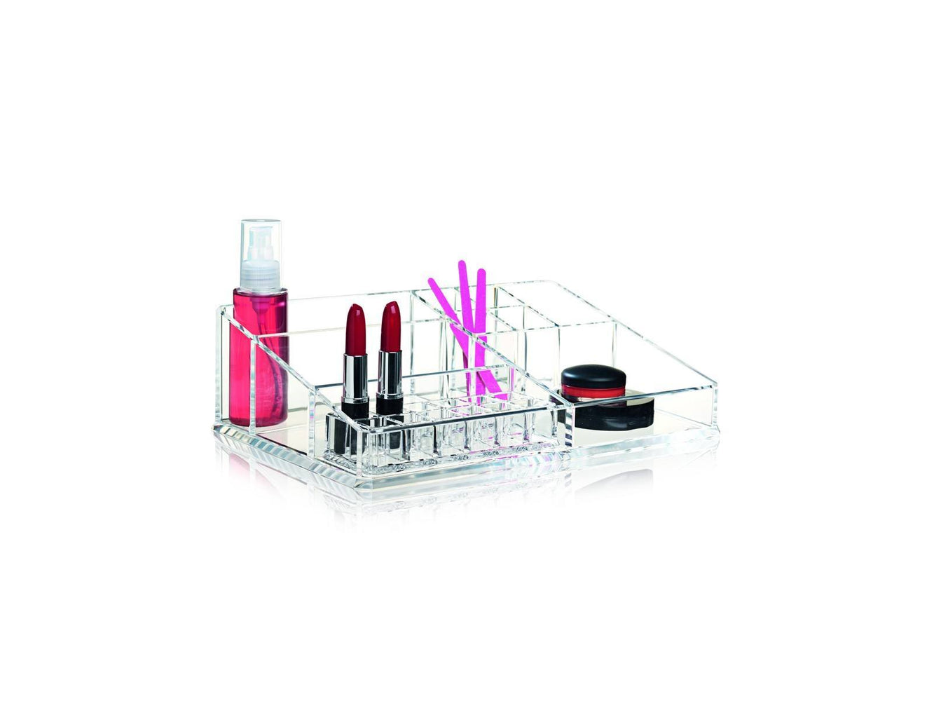 clear make up organizer fra nomess large 32x21x9 cm