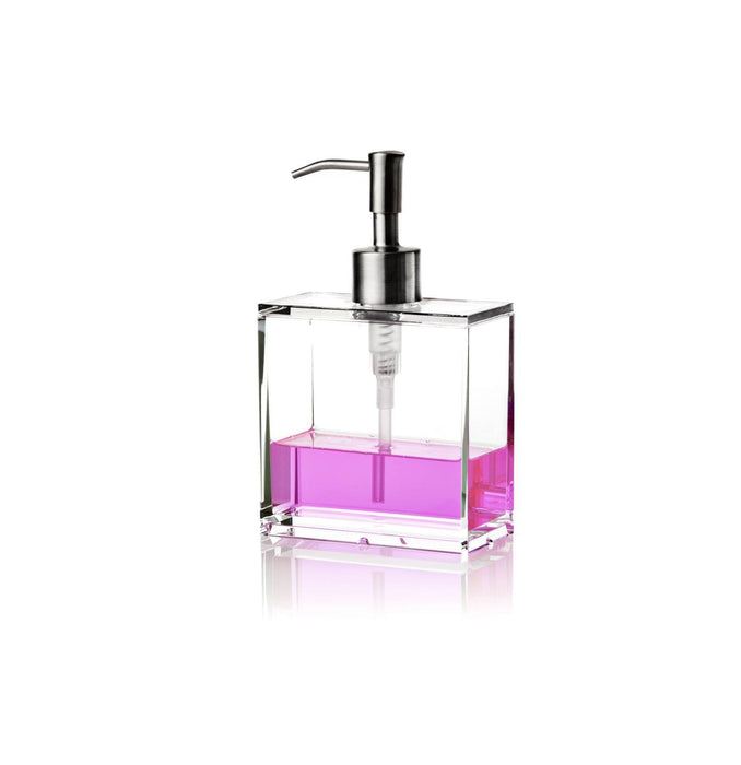 clear soap dispenser fra nomess small 10x5x17 5 cm