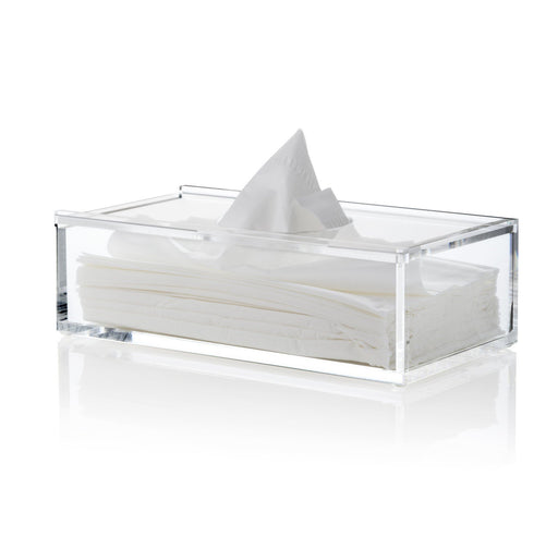 Nomess Clear tissue holder-Designfund.no