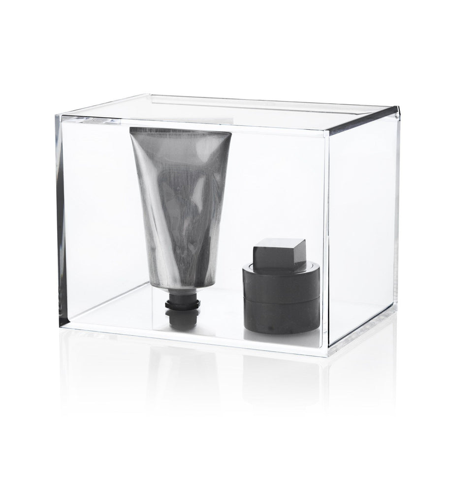 Nomess Clear box with lid - Tall-Designfund.no