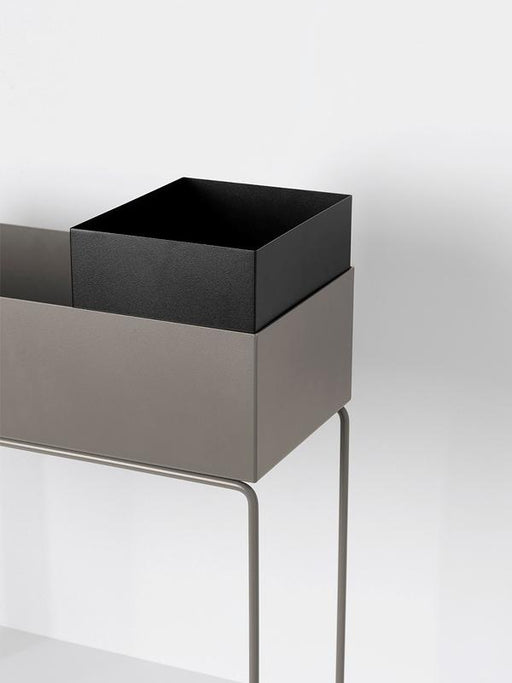Ferm Living Plant Box Pot - Svart