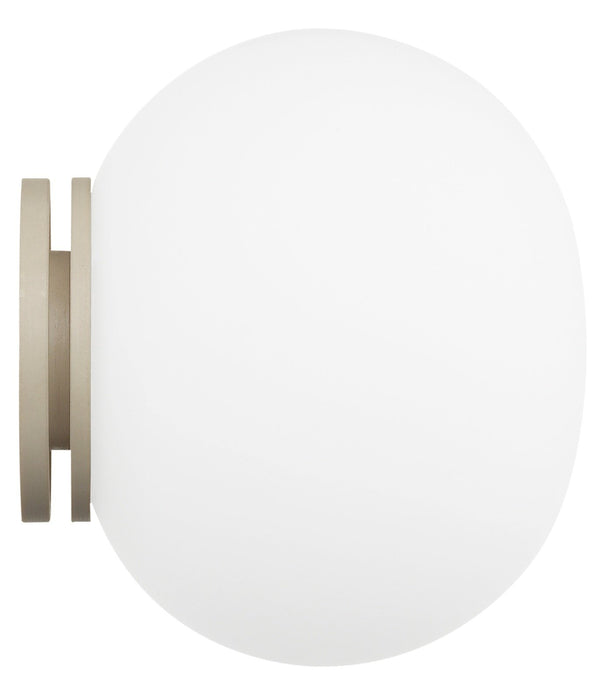 flos mini glo ball c w mirror