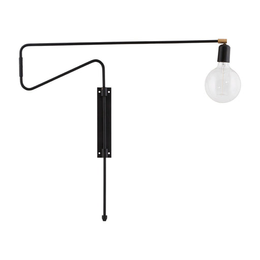House Doctor Swing vegglampe i svart - 35 cm-Designfund.no