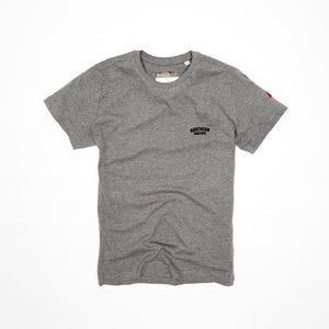 NORTHERN COUTURE SMALL FLOCKED ORGANIC TEE