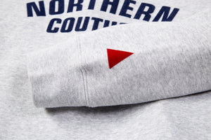 NORTHERN COUTURE MARL FLOCK SWEAT