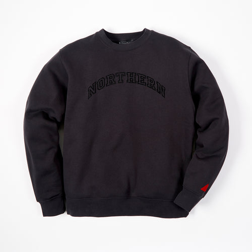 NORTHERN BLACK FLOCK SWEAT