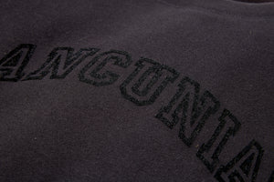 MANCUNIAN BLACK FLOCK SWEAT