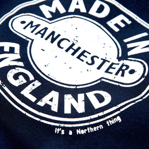 MADE IN MANCHESTER NAVY SWEAT
