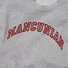 Load image into Gallery viewer, MANCUNIAN MARL FLOCK CREW NECK SWEAT