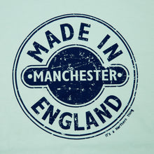 Load image into Gallery viewer, MIM - MADE IN MANCHESTER MINT/NAVY DTG ORGANIC TEE