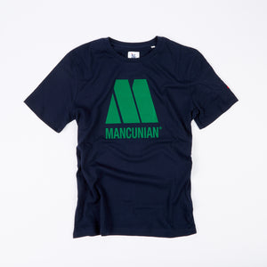 THE SOUND OF MANCUNIA NAVY T-SHIRT