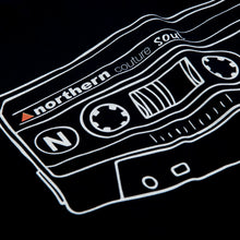 Load image into Gallery viewer, CASSETTE DTG PRINT ORGANIC TEE