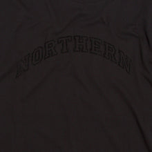 Load image into Gallery viewer, NORTHERN FLOCK BLACK ORGANIC TEE