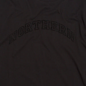 NORTHERN FLOCK BLACK ORGANIC TEE