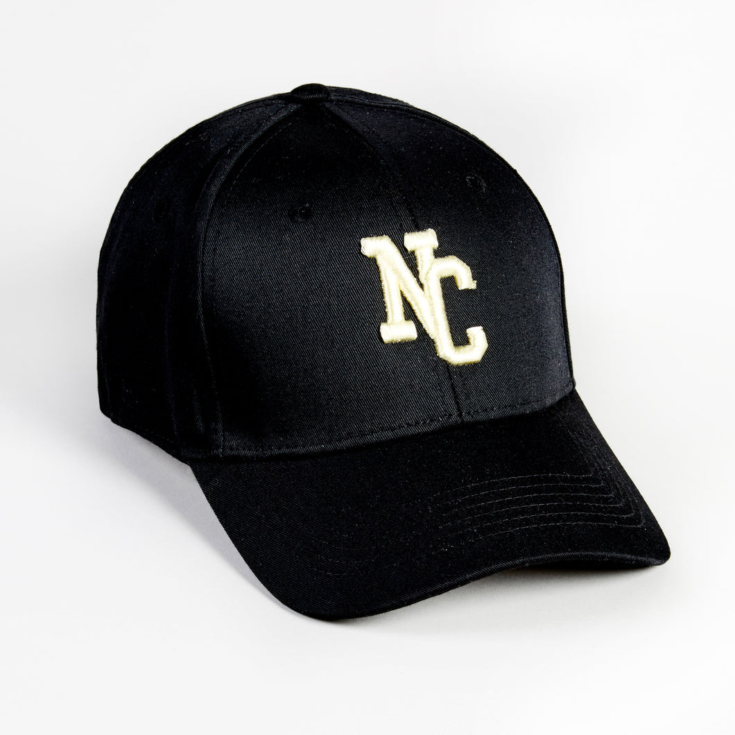 NORTHERN COUTURE - BLACK - 6 PANEL BASEBALL CAP
