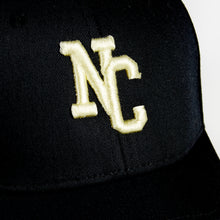 Load image into Gallery viewer, NORTHERN COUTURE - BLACK - 6 PANEL BASEBALL CAP