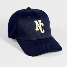 Load image into Gallery viewer, NORTHERN COUTURE - NAVY - 6 PANEL BASEBALL CAP