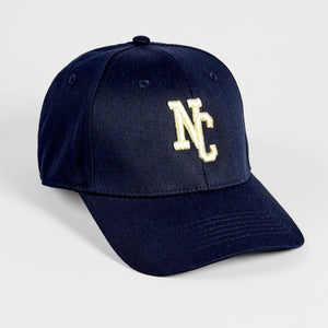 NORTHERN COUTURE - NAVY - 6 PANEL BASEBALL CAP