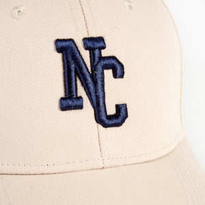 NORTHERN COUTURE - PUTTY - 6 PANEL BASEBALL CAP