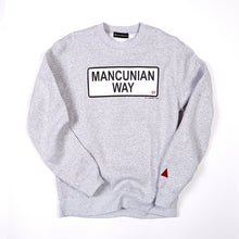 Load image into Gallery viewer, MANCUNIAN WAY CREW NECK SWEAT