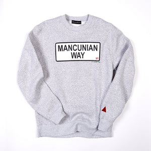 MANCUNIAN WAY CREW NECK SWEAT