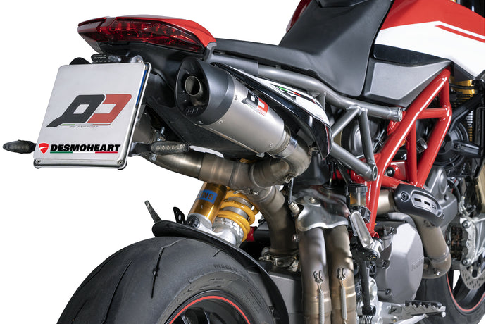 Introducing The Brand New QD EXHAUST Ducati Hypermotard 950 Titanium Semi-Full Exhaust System