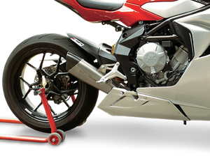 "HP CORSE MV Agusta F3 Low Position Slip-on Exhaust ""Evoxtreme 310 Satin"" (EU homologated)"