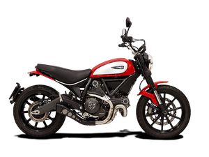 "HP CORSE Ducati Scrambler 800 Slip-on Exhaust ""Hydroform"" (EU homologated)"