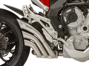 "HP CORSE MV Agusta Turismo Veloce Slip-on Exhaust ""HydroTre Satin"" (EU homologated; with stainless steel cover)"