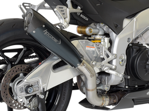 "HP CORSE Aprilia RSV4 RR/RF (15/16) Slip-on Exhaust ""Evoxtreme 310 Black"" (racing)"
