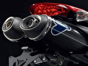TERMIGNONI Ducati Hypermotard 1100/796 Carbon Dual Undertail Slip-on Exhaust (EU homologated)