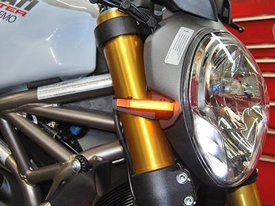 NEW RAGE CYCLES Ducati Monster 821 LED Front Turn Signals