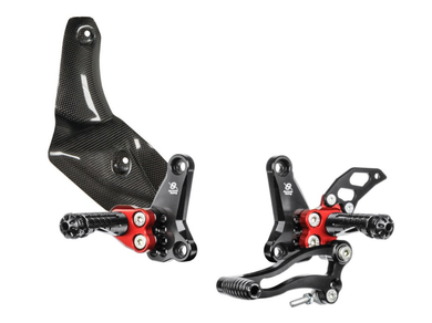 DSTR - BONAMICI RACING Ducati Streetfighter 1098/848 Adjustable Rearset