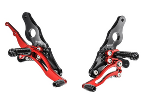 DH01 - BONAMICI RACING Ducati Hypermotard / Multistrada Adjustable Rearset