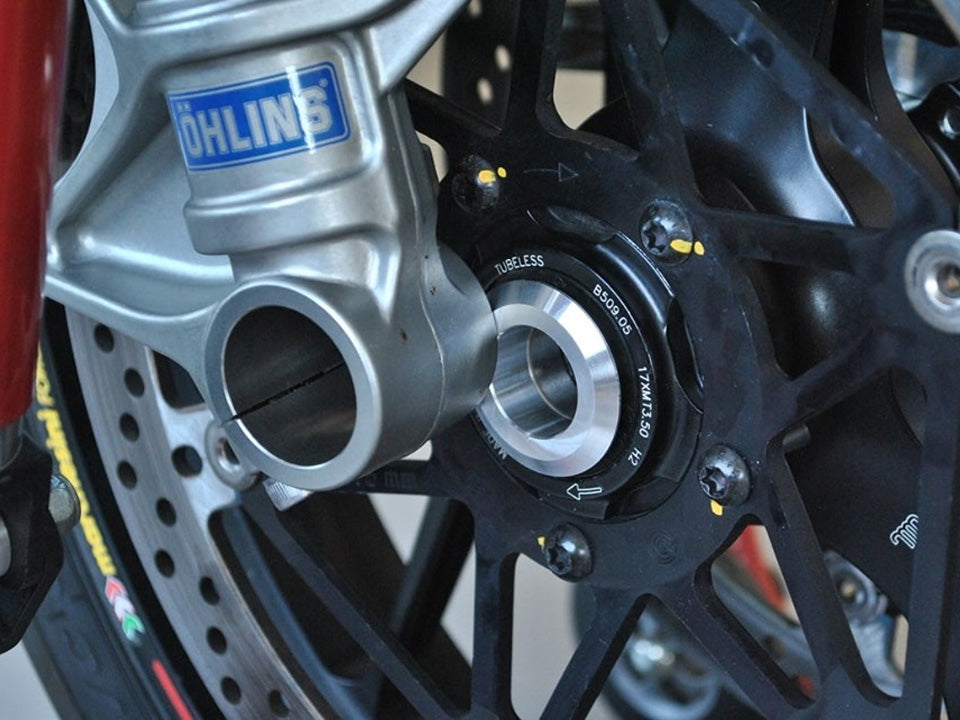 Ducati 1199//899 Panigale CORSE DYNAMICS Lightweight Front Wheel Spacers