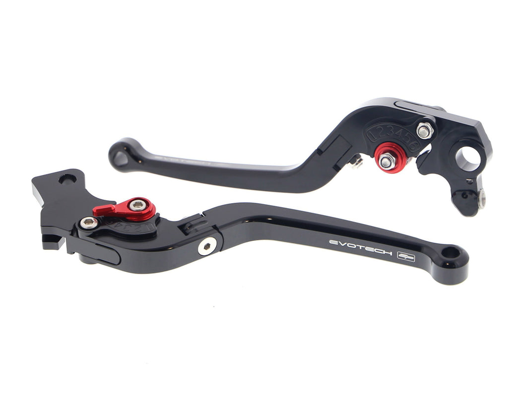 EVOTECH Ducati Monster / Scrambler Desert Sled Handlebar Levers (Long, Folding)