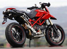 Ducati Hypermotard 1100/796 Dual Undertail Carbon Slip-on Silencers by TERMIGNONI