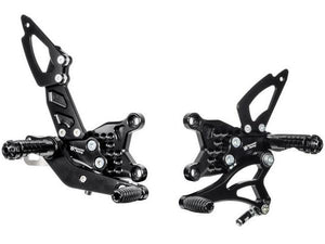 A004 - BONAMICI RACING Aprilia RSV4 / Tuono V4 (11/16) Adjustable Rearset
