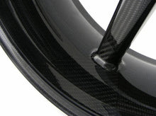 "BST Ducati Panigale 899 / 959 Carbon Wheel ""Mamba TEK"" (front, 7 straight spokes, black hubs)"