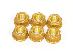 6DSB01 - DUCABIKE Ducati Rear Sprocket Carrier Nuts set (M10x1.0)