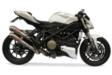 "GPR Ducati Streetfighter 1098 Dual Slip-on Exhaust ""Powercone Evo 4"" (EU homologated)"