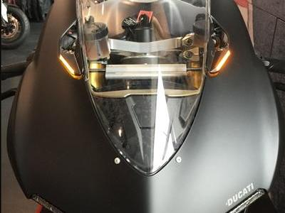 NEW RAGE CYCLES Ducati Panigale 899 LED Mirror Block-off Turn Signals