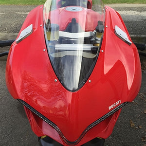 NEW RAGE CYCLES Ducati Panigale 1299 LED Mirror Block-off Turn Signals