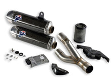 TERMIGNONI Ducati Monster 1100 Evo Dual Slip-on Exhaust (racing)