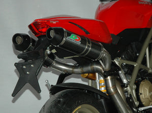 "QD EXHAUST Ducati Streetfighter Full Exhaust System ""Magnum"" (undertail mount; EU homologated)"