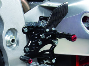 A005 - BONAMICI RACING Aprilia RSV4 / Tuono V4 (2017 – ) Adjustable Rearset