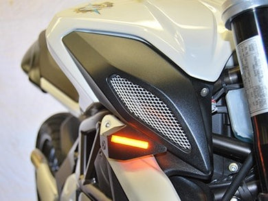 NEW RAGE CYCLES MV Agusta Brutale / Dragster LED Front Turn Signals