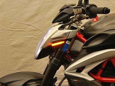 NEW RAGE CYCLES MV Agusta Brutale 800/RR LED Front Turn Signals