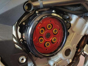 CA300 - CNC RACING MV Agusta Oil Bath Clear Clutch Cover (hydraulic control)